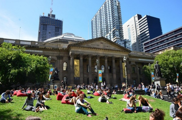 Thư viện quốc gia Victoria, Melbourne, Australia