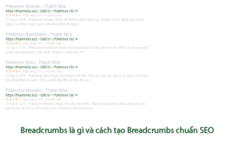 Breadcrumbs là gì và cách tạo Breadcrumbs chuẩn SEO - Cập nhật 2020